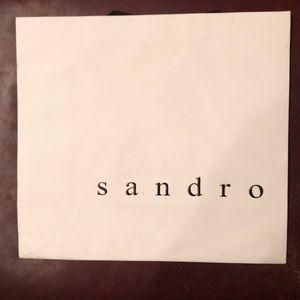 Sandro Medium Sized Shopping Bag